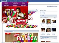Skittles part 2 - facebook
