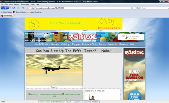 Pardonmyfrench Is Roblox Safe For Kids Not Sure So I Blocked It