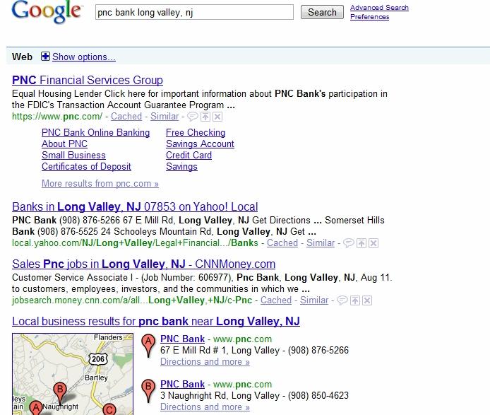 Google pnc bank