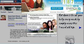 Online ads go bad