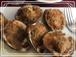The Publick House Clams Oreganato
