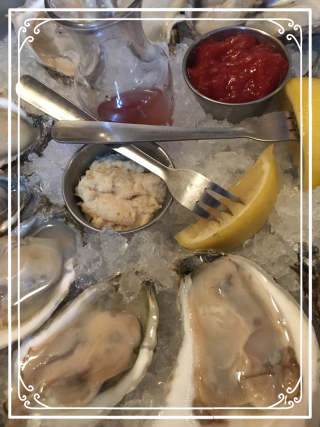 Fresh Shucked Oysters from Tewksbury Inn