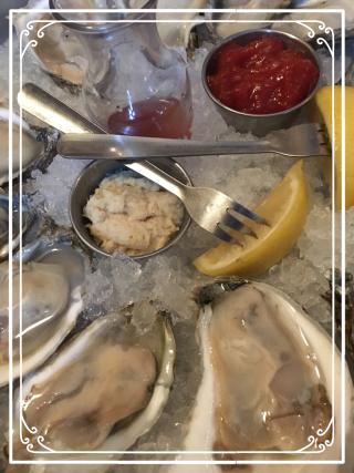 Fresh Shucked Oysters from Tewksbury Inn
