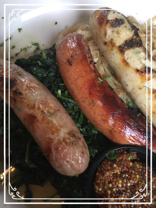 Best of the Wurst from The Long Valley Pub and Brewery